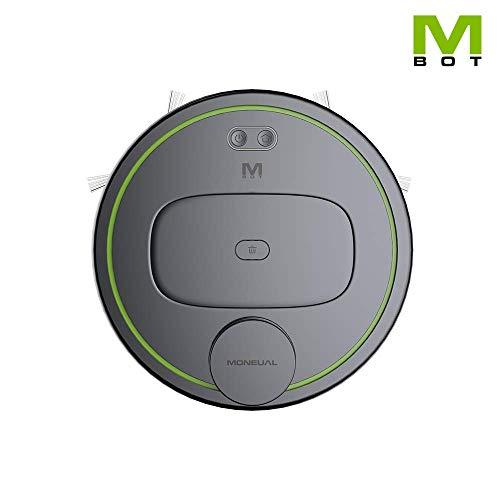 MONEUAL MBOT900 Premium Staubsaugroboter mit Wischfunktion. Ein Reinigungsroboter, der mit einer App gesteuert werden kann. 3 Saugkraftstufen, Live-Karte, detaillierte Reinigungsplanung.