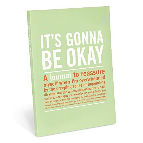 Knock Knock It's Gonna Be Okay Inner-Truth Journal, 7' x 9.5'