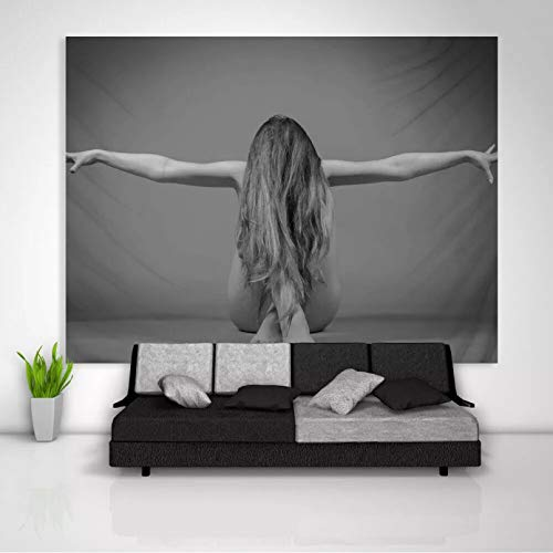 N/A Tapices de decoración de dormitorios Chica Tapiz Arte Colgante de Pared sofá Mesa Cubierta de Cama decoración del hogar