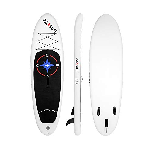 Opblaasbare 310 Cm SUP Board Surf Board Met Verstelbare Paddle, Enkelband, Pump, Reparatieset & Carry Bag Touring SUP (Color : White, Size : 310X82X15CM)