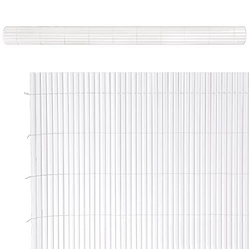 Ldk Garden Cañizo Doble Cara PVC Blanco 3 X 1,50 M