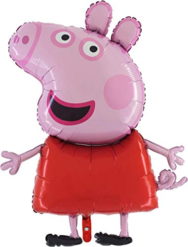 37 Inch Giant Jumbo Size Peppa Pig Foil Balloon - Kids Party Balloons