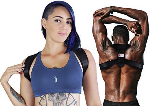 FDA Approved Adjustable Upper Back Brace Invisible Thoracic Back Brace for Hunching Adjustable Shoulder Posture Brace L Emoly Posture Corrector for Men /& Women