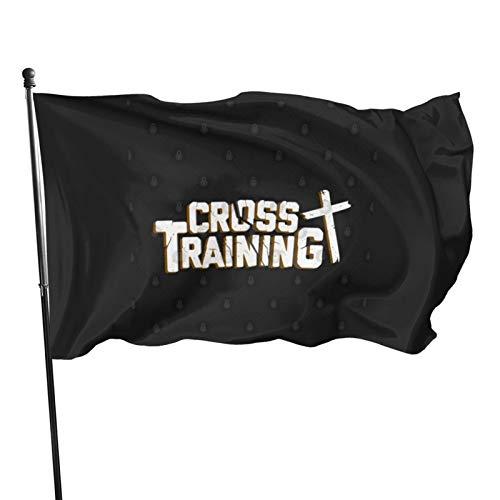 N/F Christentum Kirche Glaube Pastor Preacher Gott Glaube Geschenk Lustig Christlich Jesus Kreuz Training Fahne Banner Flaggen Banner