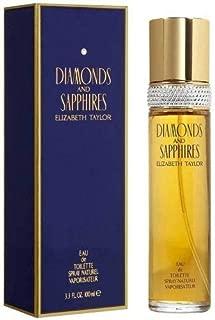 ELIZABETH TAYLOR DIAMOND&SAPPHIRE EDT SPRAY 3.3 OZ FRGLDY