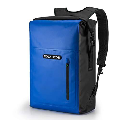 ROCKBROS Mochila Impermeable Bolsa Seca Dry Bag 25L para Hombres Mujeres Kayak...
