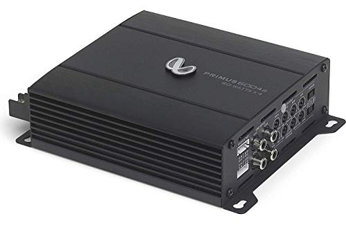Infinity Primus 6004a Compact 4-Channel car Amplifier — 60 watts RMS x 4