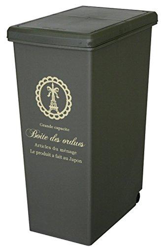 平和工業 ゴミ箱 スライドペール 20L 日本製 ブラウン