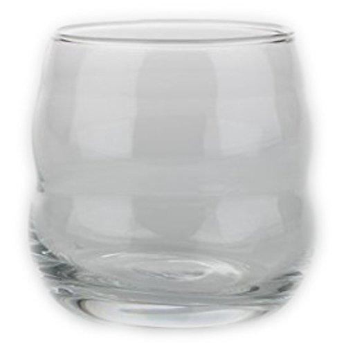 Natures Design Einzelglas Verre Blanc-Verres Mythos avec Fleur de Vie-Gravure Laser-Produit Neuf-Passe au Lave-Vaisselle