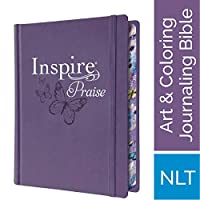 Inspire Praise: New Living Translation, Coloring & Creative Journaling