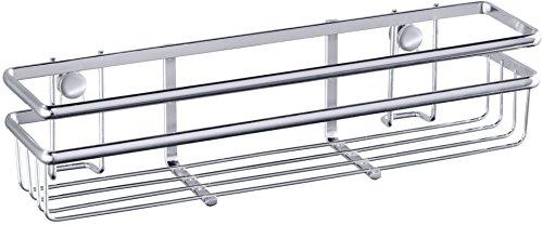 Wenko Style Estante Especiero, Metal, Plata Brillante, 7x30x7 cm