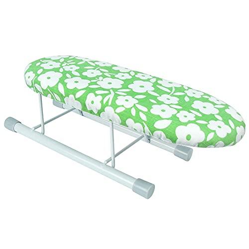 BGROESTWB Tabla de Planchar Tabla de Planchado Tablero Plancha Acolchada Plancha para Planchar Casa (Color : Green, Size : One Size)