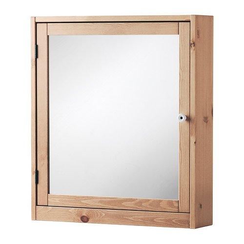 IKEA SILVERAN ミラーキャビネット ライトブラウン 60×14×68cm 50270768