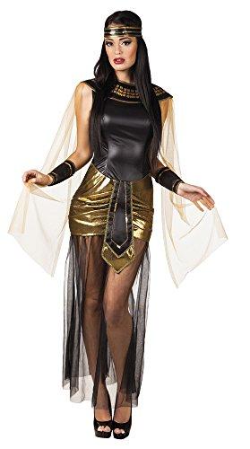 Boland- Cleopatra Deluxe Costume Adulto Donna, Nero, Oro, S (36/38), 83643