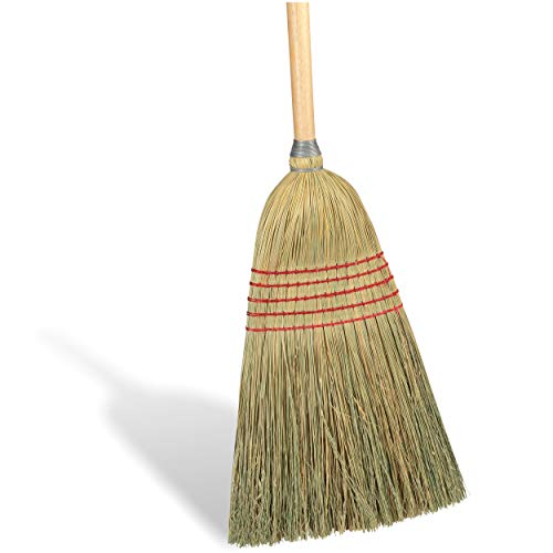 COASTWIDE CW57732 10-Inch Standard Corn Broom, Natural
