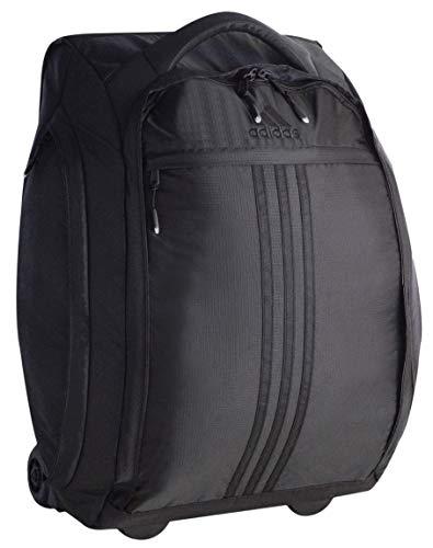 adidas Bolsa de Ruedas Unisex Duel de 21 Pulgadas, Color Negro, Talla única