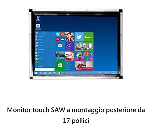 New Model 2020-17 Zoll Touchscreen Open Frame General Touch RTL 173 - RS232/USB - 4/3 VGA/DVI 1280 x 1024px - Antireflex