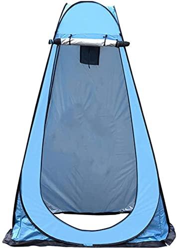 MWKL Tienda de campaña de privacidad para la Ducha Vestidor portátil Camping Pop Up Aseo Tiendas de campaña Mochila al Aire Libre Toldo de Refugio para Pesca Senderismo Picnic