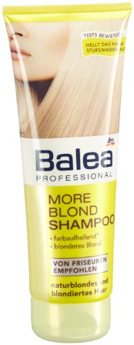 Balea Professional More Blond Shampoo, 5er Pack (5 x 250 ml)