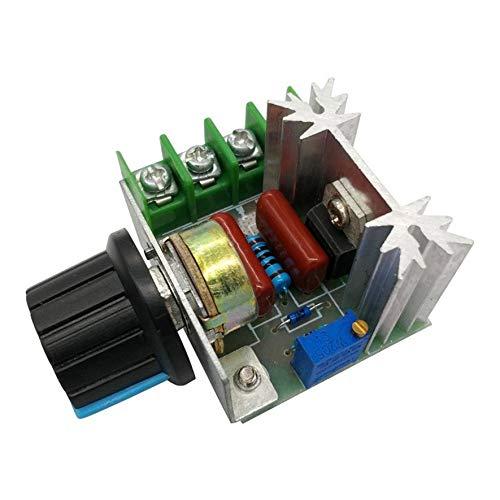 cvbf 2000W SCR Spannungsregler Dimmdimmer Motordrehzahlregler Thermostat Elektronisches Spannungsreglermodul(Farbe grün)