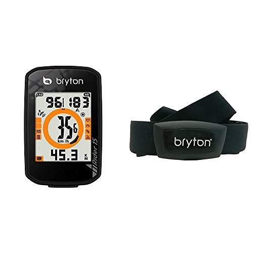 Bryton Rider Computer GPS bici da corsa, Cardiofrequenzimetro