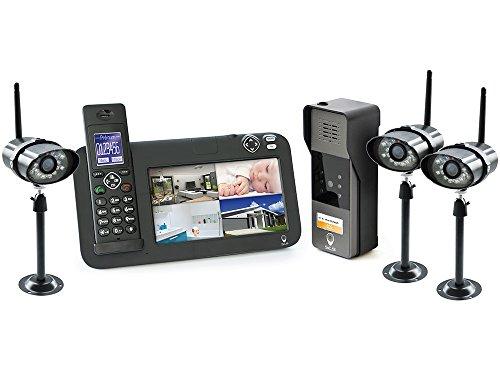 SCS Sentinel Interphone vidéo/1 platine/3 caméras - Video portero con platino / 3 cámaras