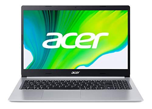 Acer Aspire 5 (A515-44-R4N6) 39,6 cm (15,6 Zoll Full-HD IPS matt) Multimedia Laptop (AMD Ryzen 5 4500U, 8 GB RAM, 512 GB PCIe SSD, AMD Radeon Graphics, Win 10 Home) silber