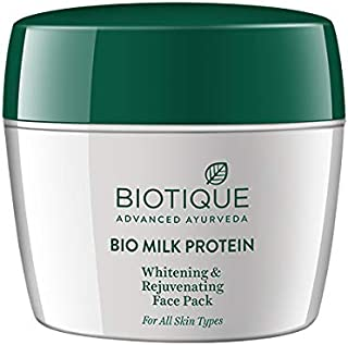 Biotique Bio Milk Protien Whitening and Rejuvenating Face Pack, 175g