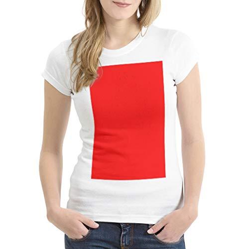 EUNNT - Camisetas retro para mujer (100% algodón, con texto en inglés), diseño con texto en inglés 'I'm Working from Home Till This is Over Coronavirus Tees para niñas Rojo rosso XL