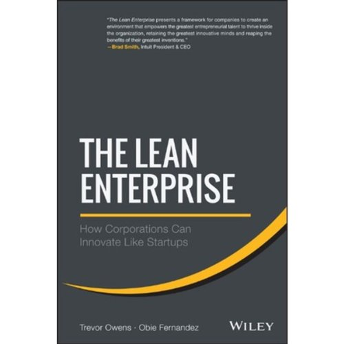 The Lean Enterprise cover art