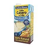 Gallina Blanca Caldo Casero de Pollo Bajo en Sal, 100% Natural, 1L