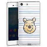 Coque Compatible avec Sony Xperia M5 Étui Housse Ourse Disney Winnie l'ourson