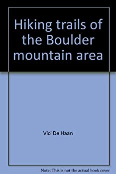 Paperback Hiking trails of the Boulder mountain area Book