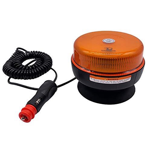 Hawkeye Luz LED Estroboscópica Baliza Luces Faro Intermitente de Advertencia de Emergencia ámbar Magnético para Camión Vehículo