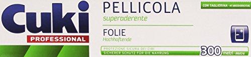 Cuki - Pellicola Superaderente, Con Taglierina - 300 Metri