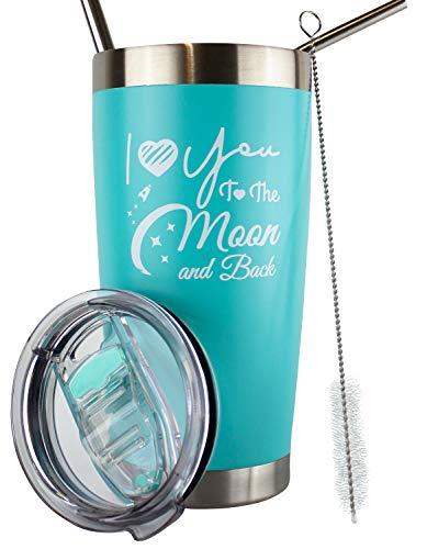 I Love You To The Moon And Back Mug, I Love You Gifts...