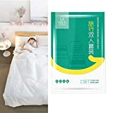 Ditind Bed Sheets Set Disposable for Travel (4 pcs)