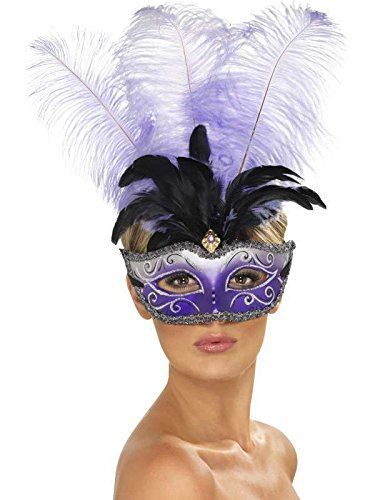 Masque venitien violet