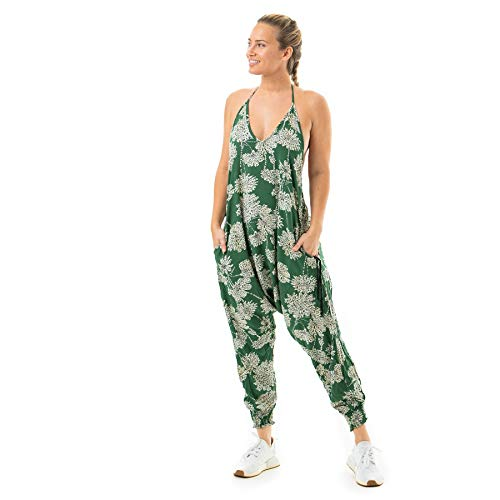 Buddha Pants Flower Harem Jumpsuits