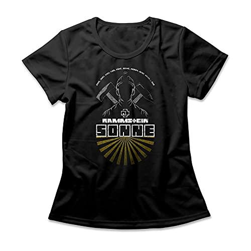 Camiseta Feminina Rammstein Sonne
