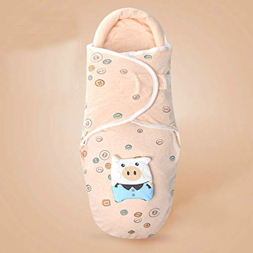 SENFEISM Swaddle Blanket Baby Bedding Clothing Soft Newborn Baby Boy Girl Cotton Swaddle Wrap Blanket Cartoon Warm Protective