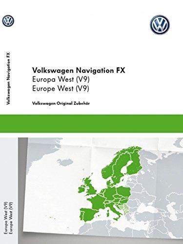 Original Volkswagen SD-Karte Navigation V9 Europa RNS 310 Navigationssystem FX Navi Software VW Update 3C8051884DA