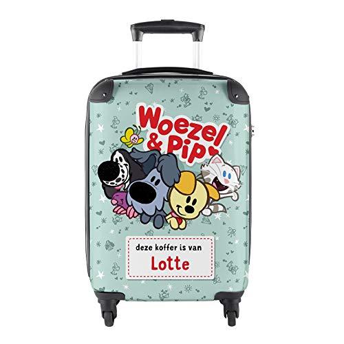 Princess Traveller naamkoffer maken - Woezel & Pip