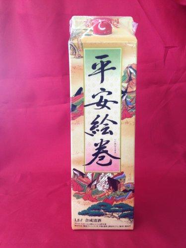 平安絵巻1.8Lパック6本入り(宝酒造・合成清酒)