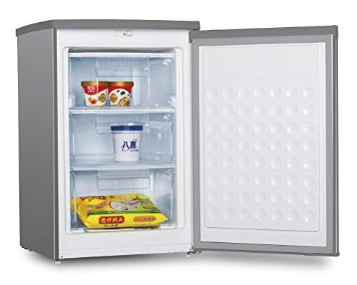 CONGELADOR VERTICAL CV-88IX INOX INFINITON (A++, Puerta reversible, Termostato regulable, Independiente)
