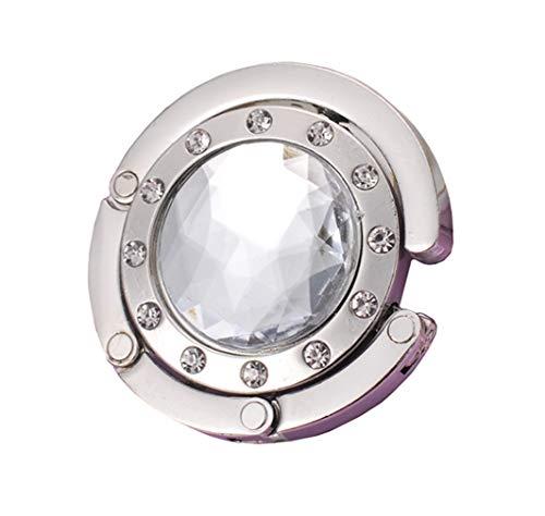 Faltbare Diamant Handtaschenhalter Kristall Runden Handtaschenhaken DIY Tasche Geldbörse Aufhänger von SamGreatWorld