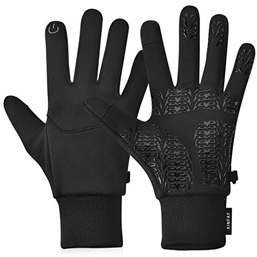 XINFAY Winter Gloves Touch Screen Gloves,Warm Water Resistant Windproof Full Palm Non-Slip for...