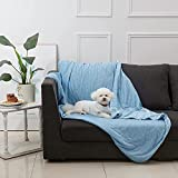 Allisandro Cooling Dog Pet Blanket with Cold Material for Dogs Cats Puppies 40 X 30 Inches Bed Mats Blankets Keep Pets Cool and Comfort Lightweight Summer Blanket