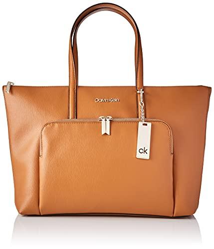 Calvin Klein Must, CK Deve Donna, Cognac, Taglia Unica