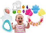 Koochie-Koo Baby Fruit and Vegetable Nibbler-Fresh Fruit Teether BPA Free Non Toxic Infant